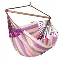 Domingo Plum - Lounger hangstoel outdoor