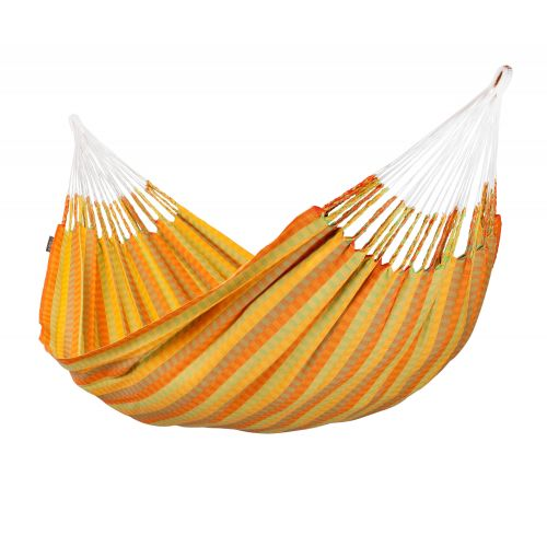 Carolina Citrus - Tweepersoons klassieke hangmat katoen