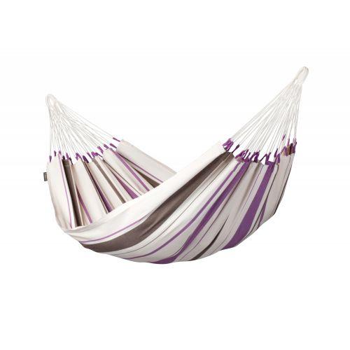 Caribeña Purple - Eenpersoons klassieke hangmat katoen