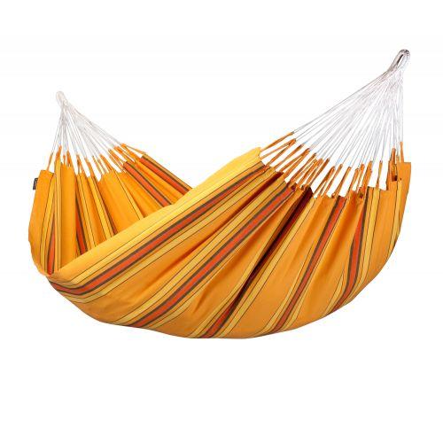 Currambera Apricot - Tweepersoons klassieke hangmat katoen
