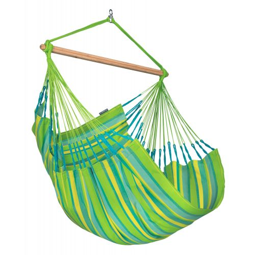 Domingo Lime - Comfort hangstoel outdoor