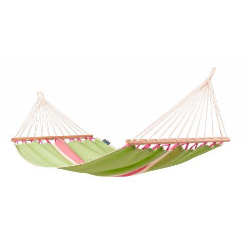 Fruta Kiwi - Eenpersoons spreidstok hangmat outdoor