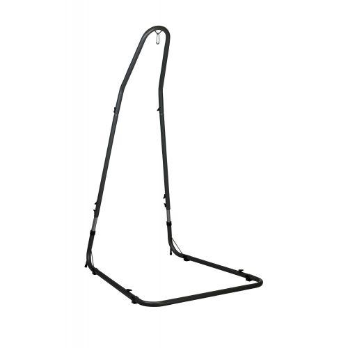 Mediterráneo Anthracite - Gepoedercoate stalen standaard voor basic hangstoelen