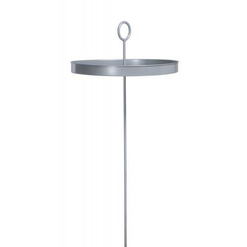 Mesero Silver - Gepoedercoate staal tafel voor hangmat