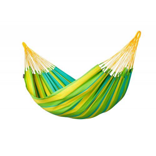 Sonrisa Lime - Eenpersoons klassieke hangmat outdoor
